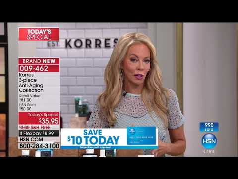 HSN | KORRES Beauty 10th Anniversary 09.14.2017 - 12 AM
