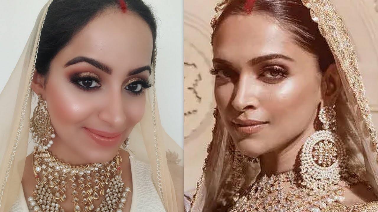DEEPIKA PADUKONE MUMBAI RECEPTION MAKEUP(HINDI)| Deepti Ghai Sharma
