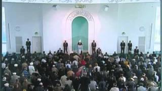 Friday Sermon: 19th November 2010 - Part 1 (Urdu)