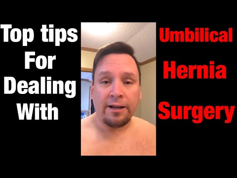 My top tips for dealing with umbilical hernia surgery