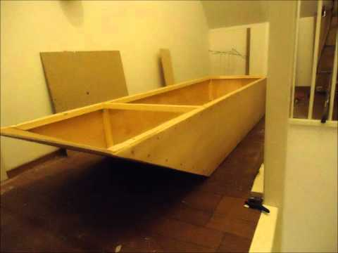 homemade plywood boat with electric drill total costs $70 - YouTube