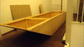 homemade plywood boat with electric drill total costs $70