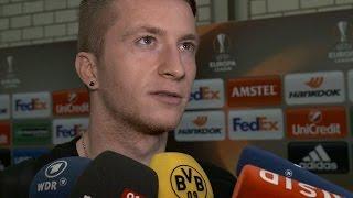 Marco Reus: Ich kann noch nichts Genaues sagen | BVB - FK Qäbälä 4:0