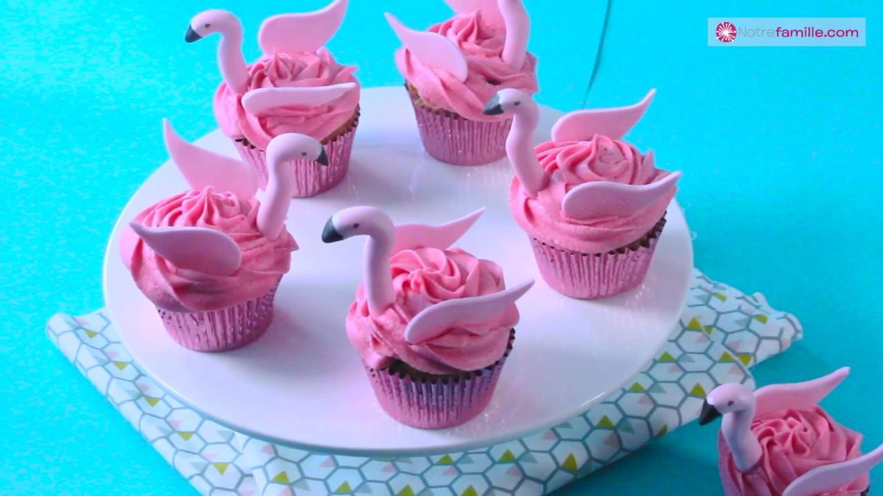 Cupcakes Flamants Roses Cake Design Danne Sophie Youtube