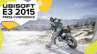 ghost recon wildlands reveal e3 2015 ubisoft press conference