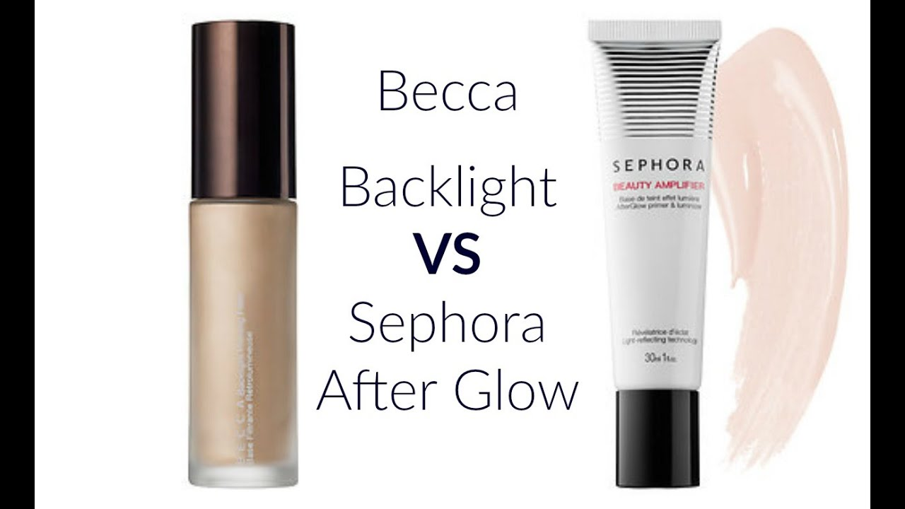 becca backlight vs sephora afterglow youtube. Black Bedroom Furniture Sets. Home Design Ideas