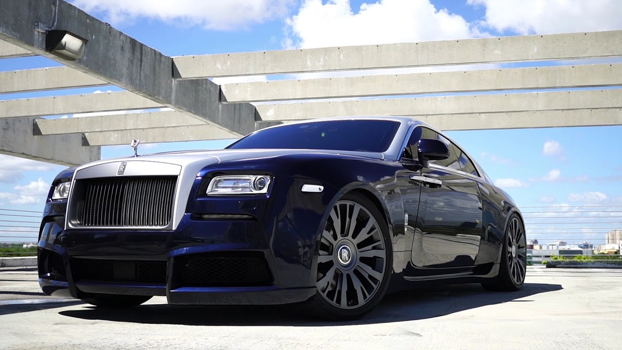 MC Customs   Wide Body Rolls Royce Wraith • Novitec Spofec ...
