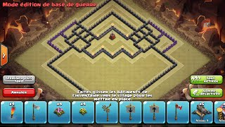 Clash of Clans - Hdv 9 - GDC + Propulseur d'air