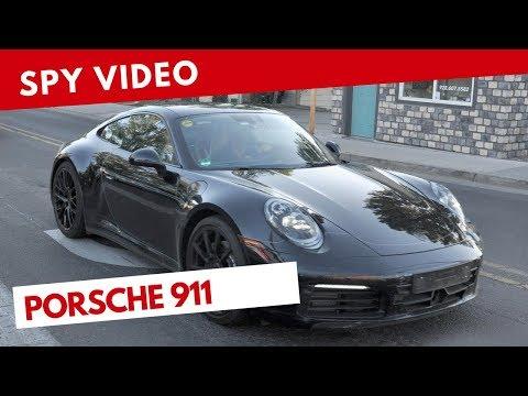 Porsche 911 2019 | Spy video (July 2018)