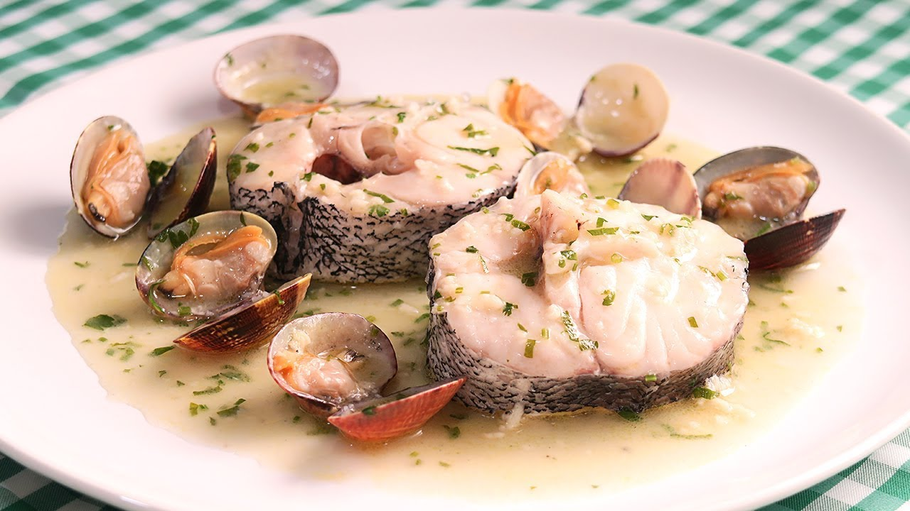 Merluza En Salsa Verde Receta De Pescado Muy F Cil Y