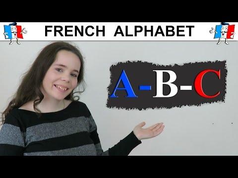FRENCH ALPHABET PRONUNCIATION | FRENCH ABC | L'alphabet en français