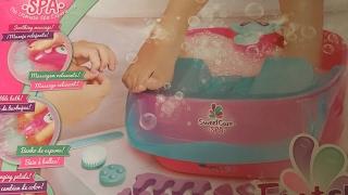 UNBOXING TOYS - SWEET CARE SPA (Spa de Juguete para Niñas de la pequeña Geek) Video