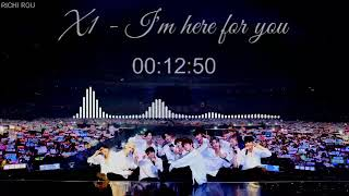 Cover images I'm Here for You - X1 One Hour Loop