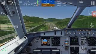Aerofly FS1 - A320 Landing At Lugano
