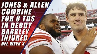 Daniel Jones & Kyle Allen Ball So Hard: NFL Week 3
