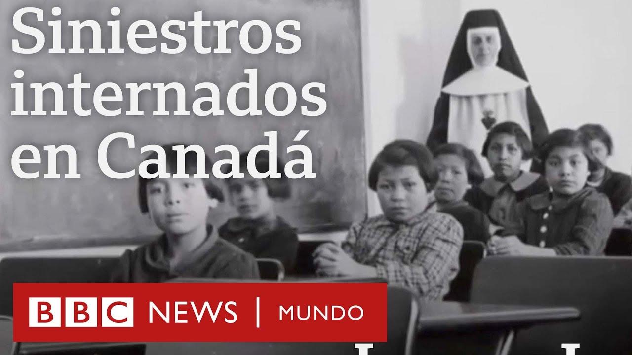 Los siniestros internados donde sufrieron abusos miles de niños indígenas en Canadá | BBC Mundo