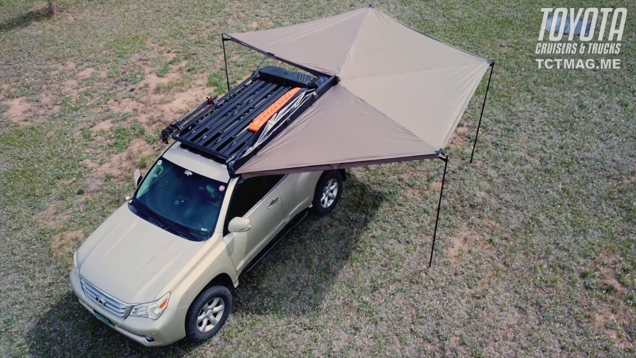 Overview: Rhino Rack Batwing Awning - YouTube