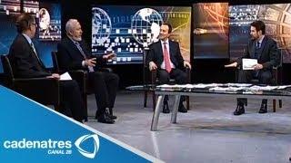 Círculo de Ideas 11/08/13 Debate de la despenalización de la marihuana