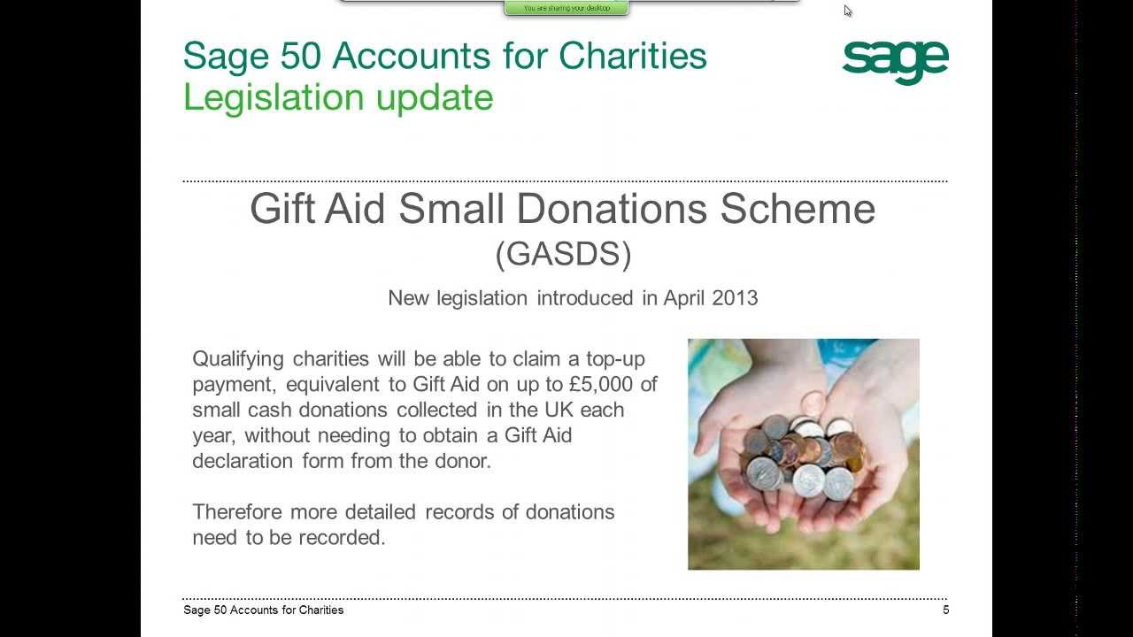 how to open a charity account