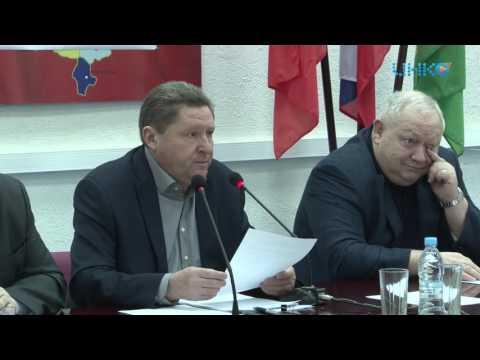 Глава городского округа Луховицы 28.02.2017г. провел очередное оперативное совещание