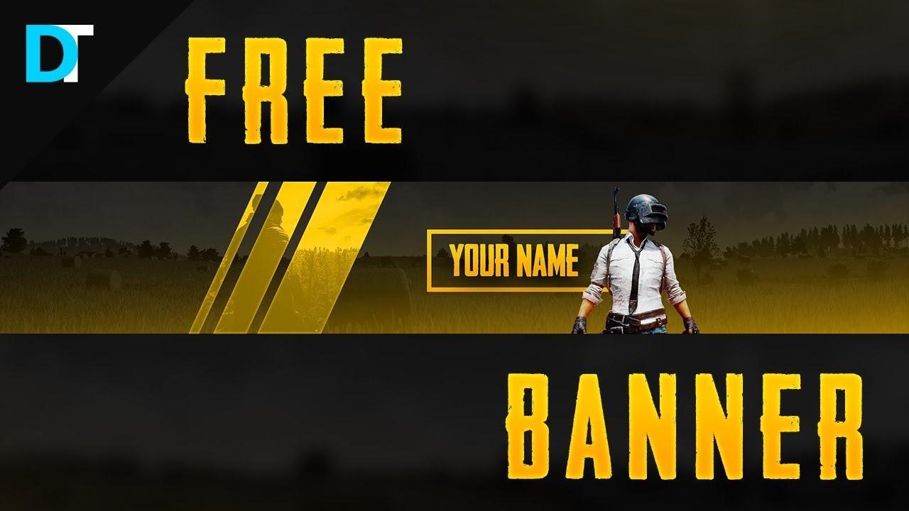FREE Playerunknown's Battleground (PUBG) BANNER TEMPLATE
