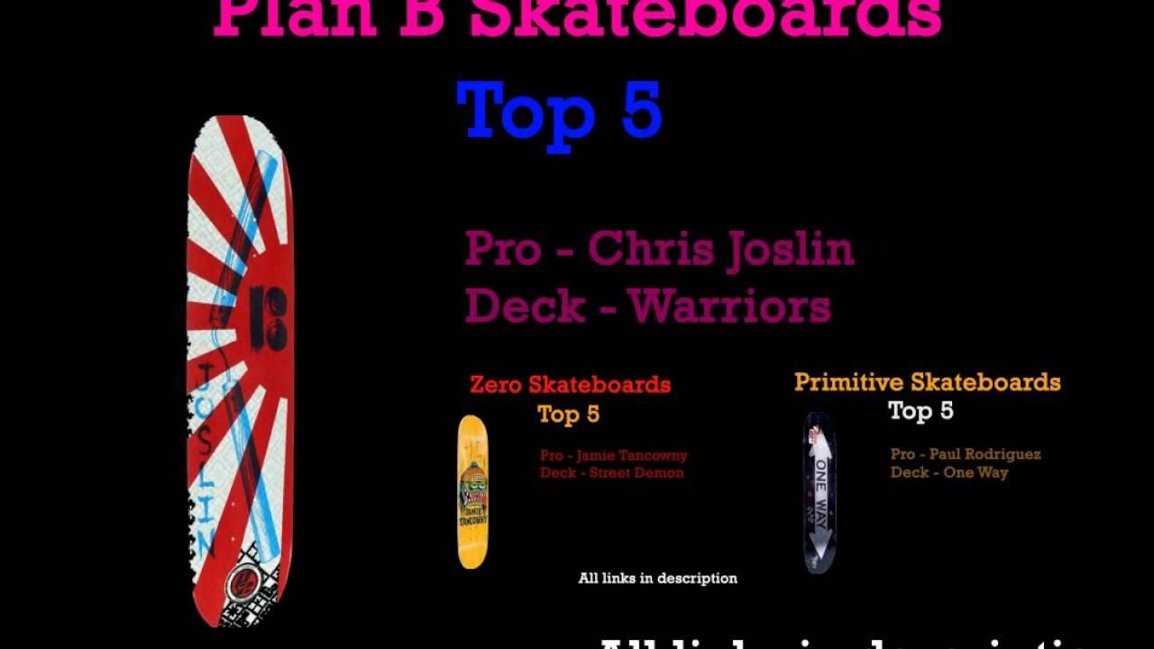 Top 5 best plan b skateboard decks youtube top 5 best plan b skateboard decks baanklon Gallery