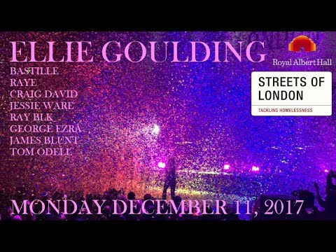 Ellie Goulding, Bastille, Raye etc. | Streets of London 2017 | Royal Albert Hall | 11/12/2017