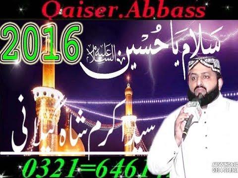 Syed Akram shah gillani QaIser AbbAss 12 10 2016 0321 6461428 Pat 2