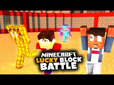 Er Ist ZU KRASS! | Lucky Block Battle