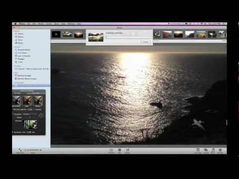 Export Your iPhoto Slideshow with HDTV 16:9 Widescreen Movie Settings