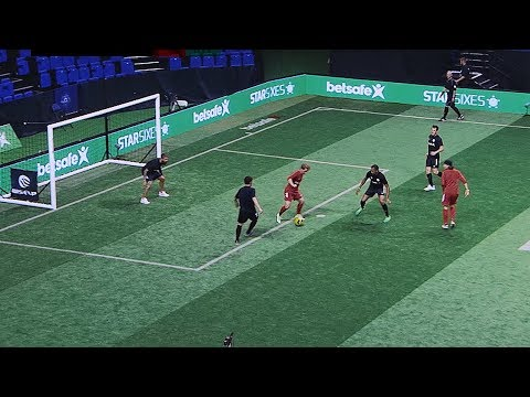freekickerz ft. Séan Garnier vs Star Sixes Legends (Real Football Match)