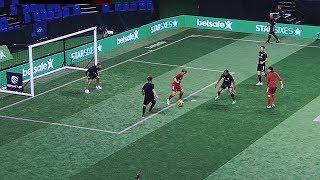 freekickerz ft. Séan Garnier vs Star Sixes Legends (Full Football Match)