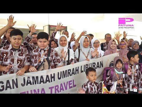 Rombongan Jamaah Umrah Lanjutan Aqsa-Petra Patuna Grup Biru & Hijau 20 Desember 2019 by Saudi Airlin.