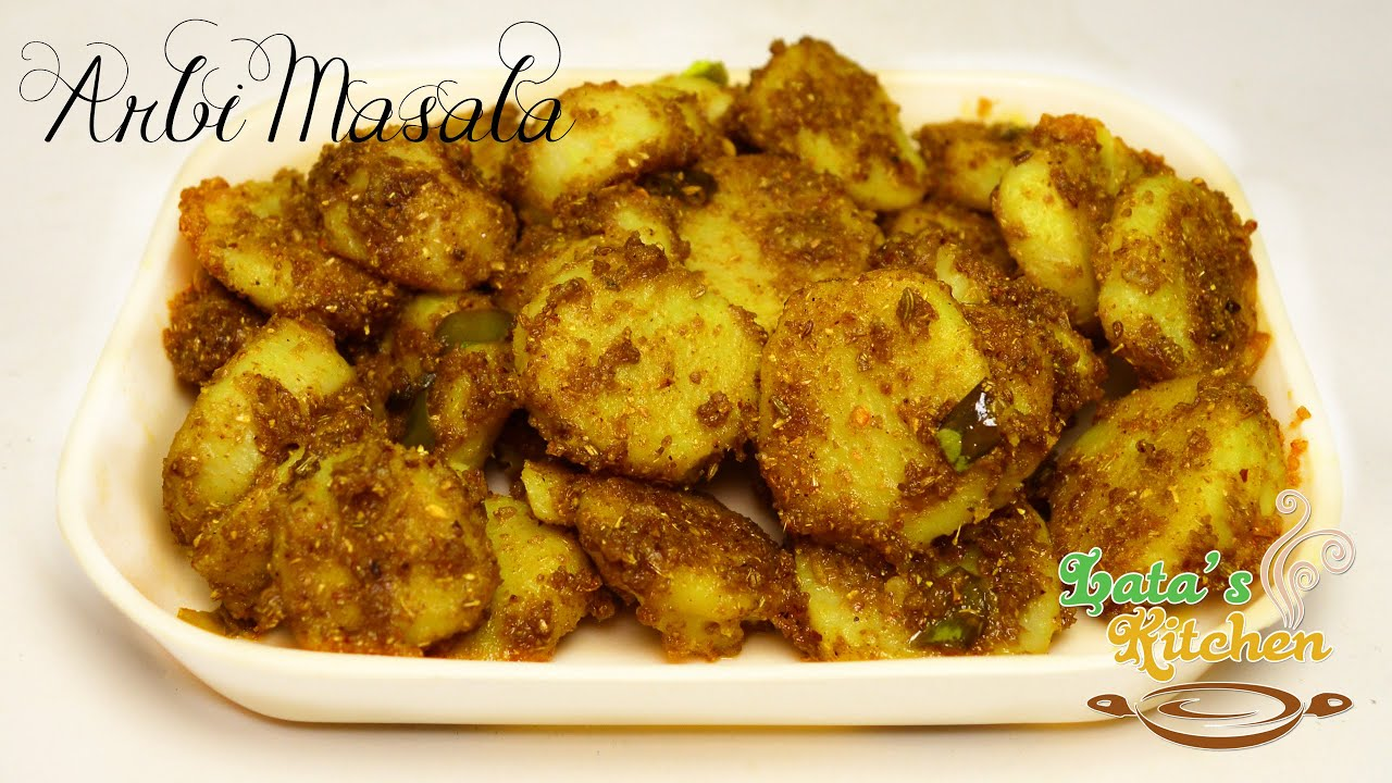 Arbi masala recipe arbi ki sabzi indian vegetarian side dish arbi masala recipe arbi ki sabzi indian vegetarian side dish recipe in hindi latas kitchen youtube forumfinder Image collections