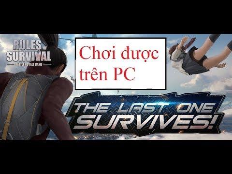 Cách tải và cài đặt game Rules of survival trên PC miễn phí ( mới nhất )