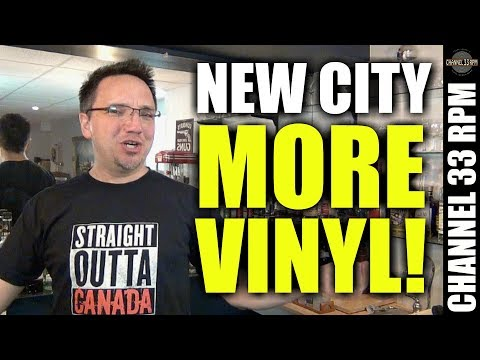 NEW VINYL PICKUPS: Checking out the Winnipeg Record & Tape Co