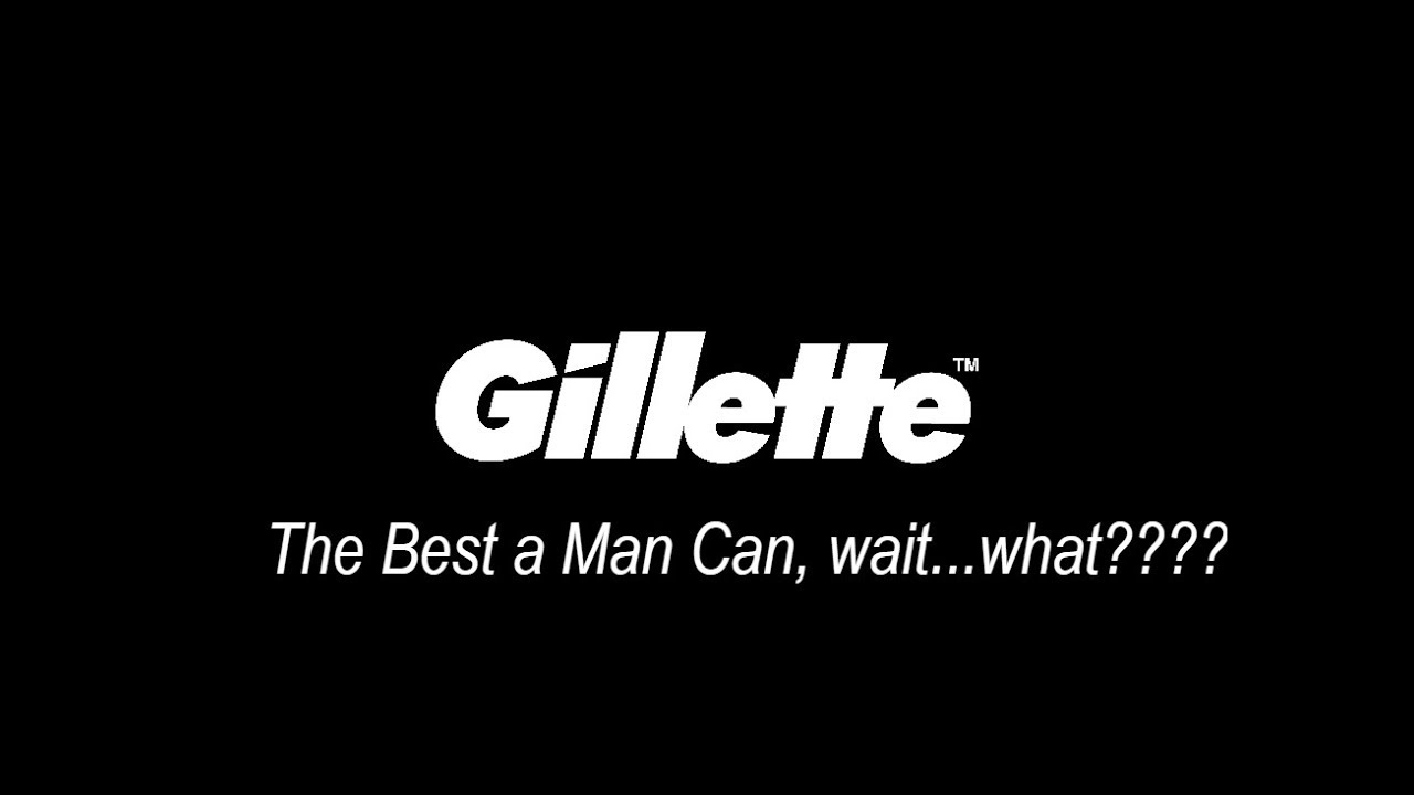 "Gillette: ""Toxic Masculinity"" Does Not Exist"