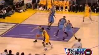 NBA Kobe Bryant Scores 30 in one quarter