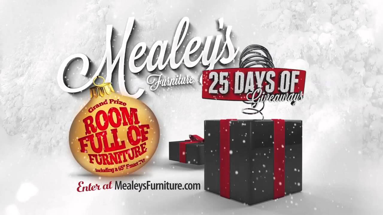 Mealeyu0027s Furniture 25 Days Of Giveaways. MealeysFurniture