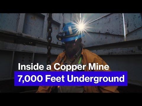 Inside the Resolution Copper Mine, 1.3 Miles Underground