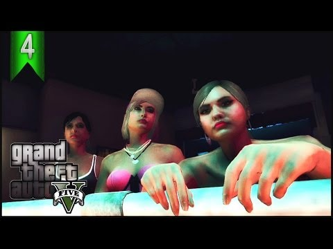 GTA 5 Online Gameplay: Ep.4 Ratchet City Girls - Crew life (