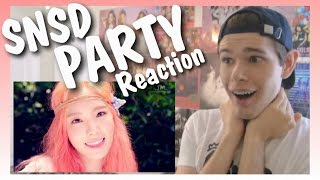 One of Dylan Jacob's most viewed videos: MV Reaction | Girls' Generation PARTY