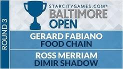 SCGBALT: Round 3 - Gerard Fabiano vs Ross Merriam [Legacy]