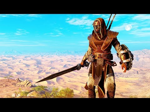 Assassin's Creed Origins The Mythical Warrior Legendary Swords Rampage & Stealth thumbnail