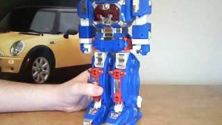 power rangers in space astro megazord review