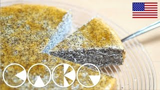 Fluffy POPPY SEED CAKE Recipe