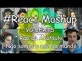 """#React Mashup: VG BEATS """" Rap da Akatsuki """"   Não somos o mal do mundo  """