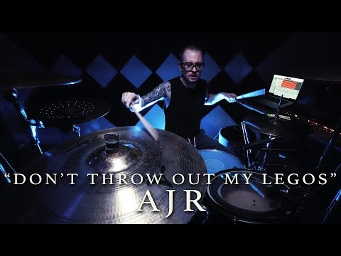 AJR - Don't Throw Out My Legos   Jeremy Shields DRUM COVER
