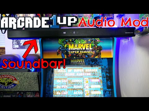 Arcade1Up Audio Mod! - Taotronics Soundbar Review from The Toy Room
