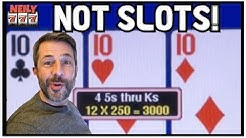 I HARDLY EVER PLAY VIDEO POKER, BUT WHEN I DO, I LIKE TO WIN BIG!!! NO SLOTS IN THIS VIDEO!